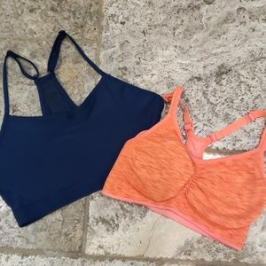 Low impact/light support sports bra bundle